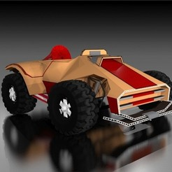 Download 3D printer templates Motorcycle 4x4, fredy