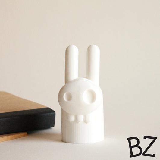 Capture_d__cran_2015-01-23___14.15.44.png Download free STL file Elvis Bunny Skull • 3D printer design, BulbZone