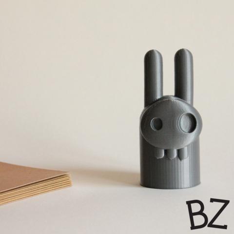 Capture_d__cran_2015-01-23___14.19.42.png Download free STL file Elvis Bunny Skull • 3D printer design, BulbZone