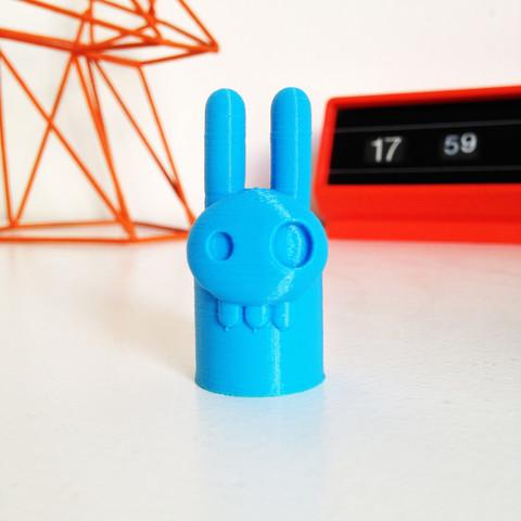 10.1_Elvis_Lapinou_Skull_-_BulbZone_-_Cults.jpg Download free STL file Elvis Bunny Skull • 3D printer design, BulbZone