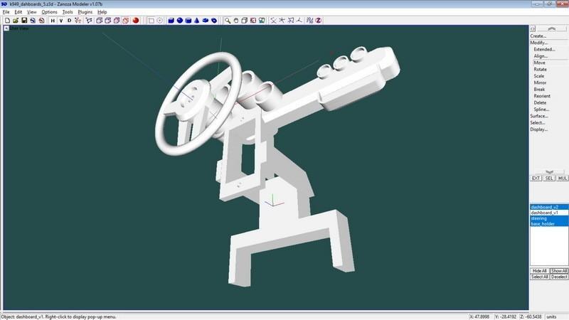 8b1af49cfdbdb7d90376e63a284d0405_display_large.jpg Télécharger fichier STL gratuit Kit de cockpit pour véhicules RC et modèles FPV au sol. • Objet imprimable en 3D, 3dxl