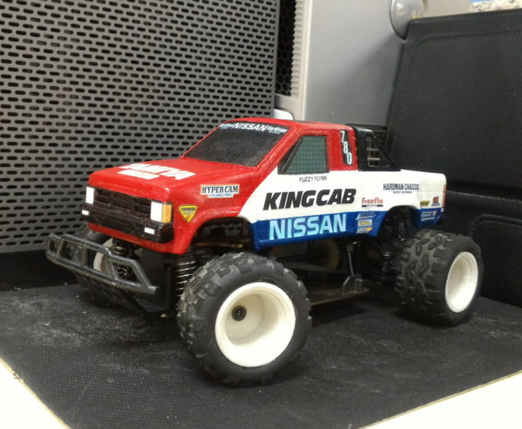 Capture d'écran 2017-09-25 à 09.59.35.png Download free STL file TAMIYA NISSAN KING CAB 1:24 scale kit for WL-Toys A212 • 3D printable template, 3dxl