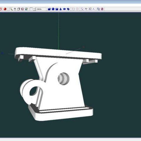 23273ced4d9a22407a220b90c4d5eca6_display_large.jpg Télécharger fichier STL gratuit Mini kit de montage de caméra pour casque de vélo • Modèle pour impression 3D, 3dxl