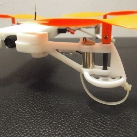 7.jpg Download free STL file  XL-RCM 8.0 XYPHER: Mini foldable FPV quad H frame for V929/HK Q-Bot • 3D printing object, 3dxl