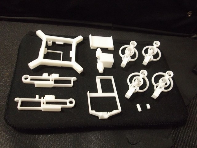 7.jpg Download free STL file Mini FPV quad copter kit for V929 or HK Q-bot • Design to 3D print, 3dxl