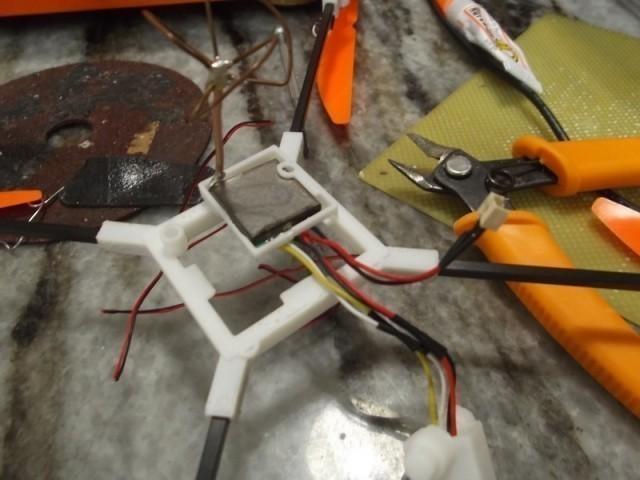 8.jpg Download free STL file Mini FPV quad copter kit for V929 or HK Q-bot • Design to 3D print, 3dxl