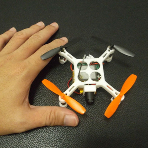 Download free 3D printing models XL-RCM 10.0 PIXXY: Pocket drone / FPV quad, 3dxl