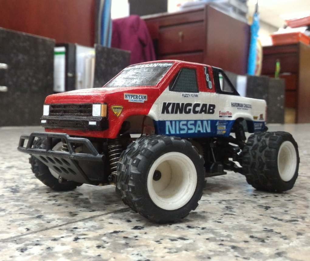 Capture d'écran 2017-09-25 à 09.59.25.png Download free STL file TAMIYA NISSAN KING CAB 1:24 scale kit for WL-Toys A212 • 3D printable template, 3dxl