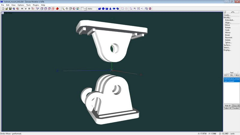 a7aaa155213f3119e076c51d4995e105_display_large.jpg Download free STL file Mini camera mounting kit for cycling helmet • 3D printer design, 3dxl