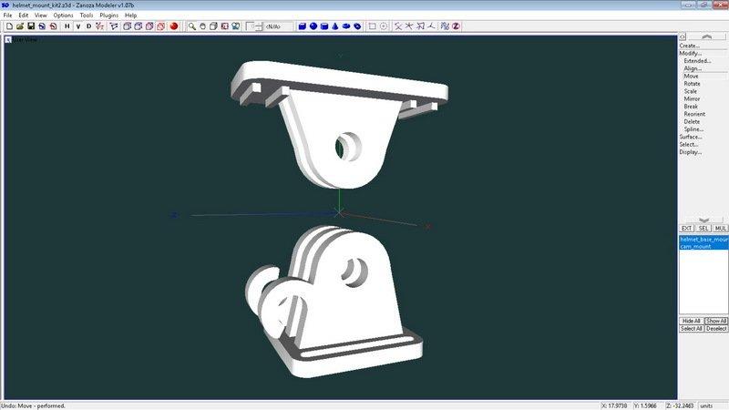 a7aaa155213f3119e076c51d4995e105_display_large.jpg Télécharger fichier STL gratuit Mini kit de montage de caméra pour casque de vélo • Modèle pour impression 3D, 3dxl