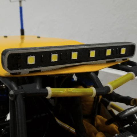 Capture d'écran 2018-03-19 à 14.38.50.png Download free STL file Roof & Fog light LED kit for Radio Control models • 3D printer object, 3dxl