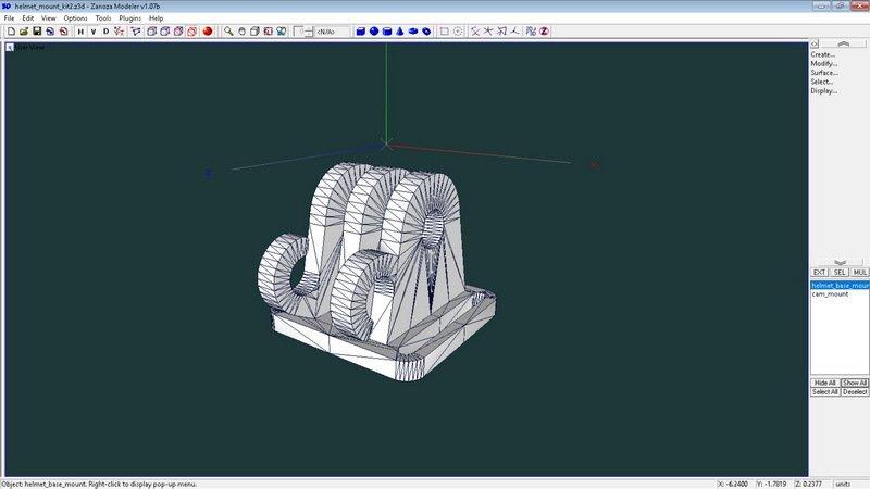 2cd1be8354ca199a6c98facb402498bd_display_large.jpg Télécharger fichier STL gratuit Mini kit de montage de caméra pour casque de vélo • Modèle pour impression 3D, 3dxl