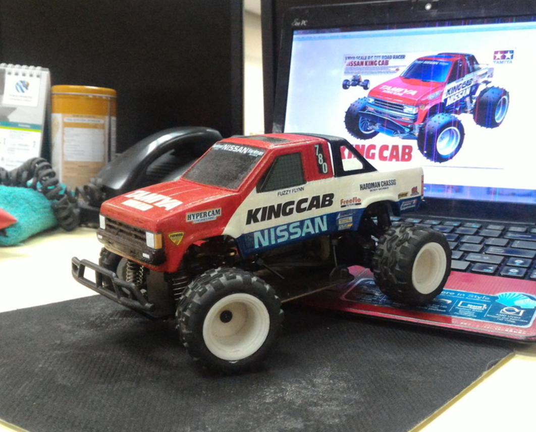 Capture d'écran 2017-09-25 à 09.58.40.png Download free STL file TAMIYA NISSAN KING CAB 1:24 scale kit for WL-Toys A212 • 3D printable template, 3dxl