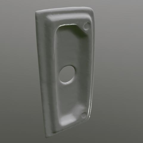 screenshot001.png Download OBJ file toilet bowl cover 26cm width • 3D print model, cat3dprint