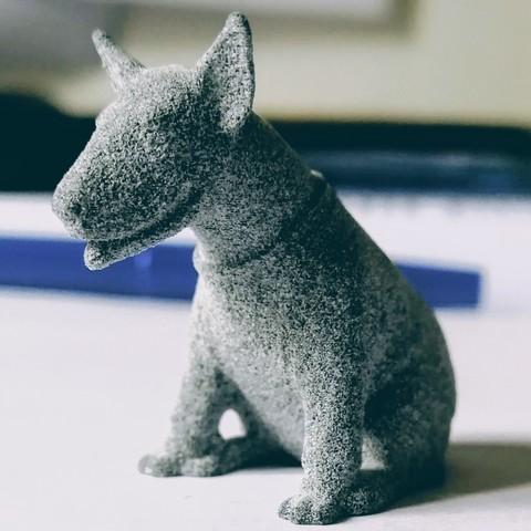 Download 3D printer designs Figurine dog bull terrier, cat3dprint