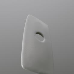 3D printer files toilet bowl cover 26cm width, cat3dprint