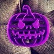 3D printing model Halloween Premium Pumpkin Cookie Cutter, OogiMe