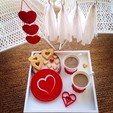 Download STL files Heart in a Heart Cookie Cutter, OogiMe