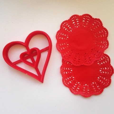 heast_be.jpg Download STL file Heart in a Heart Cookie Cutter • 3D print design, OogiMe