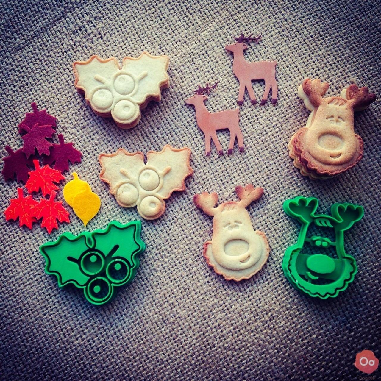 Rudolph_the_Reindeer_Cookie_Cutter_3.jpg Télécharger fichier STL gratuit Emporte Pièce Rudolph le Renne • Objet à imprimer en 3D, OogiMe
