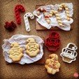 Download free STL Santa Clause Cookie Cutter, OogiMe