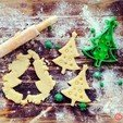 Free STL Christmas Tree Cookie Cutter, OogiMe