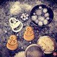 Descargar archivos STL gratis Cortador de la galleta del muñeco de nieve, OogiMe