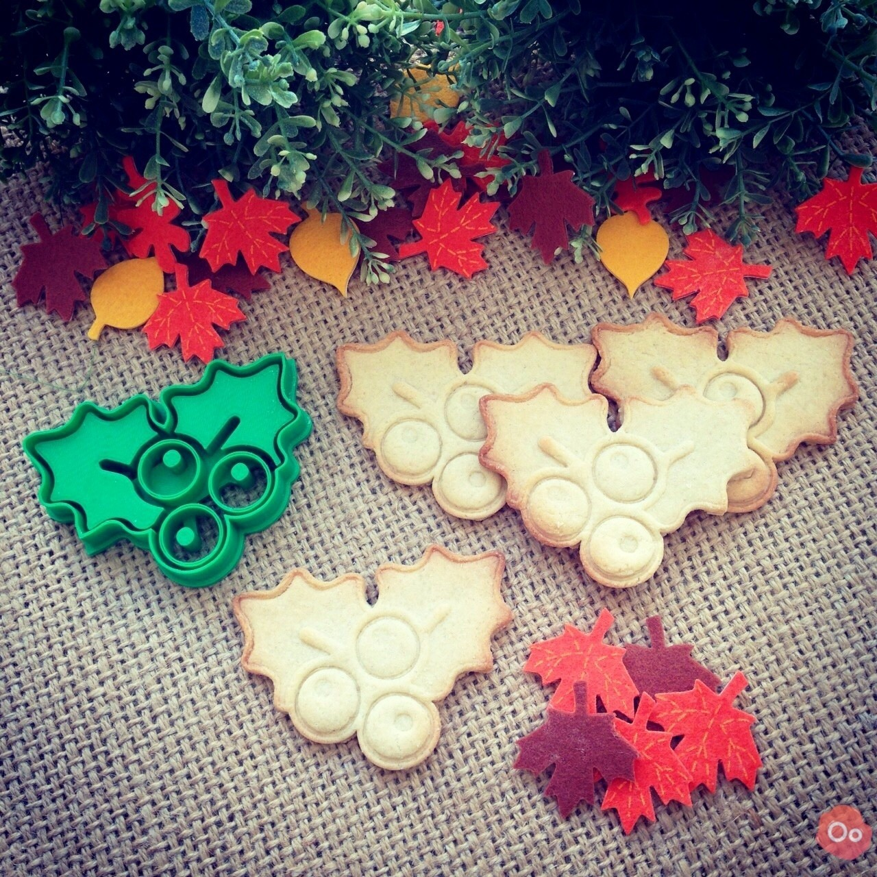 Mistletoe__Cookie_Cutter_3.jpg Download free STL file Mistletoe Cookie Cutter • 3D printing design, OogiMe