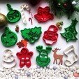 christmas_collection.jpg Download free STL file Mistletoe Cookie Cutter • 3D printing design, OogiMe