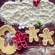 Archivos 3D gratis Gingerbread Cookie Cutter, OogiMe