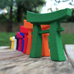 Download free 3D printing models Joi Konpurekkusu Pocket Torii, joycomplex