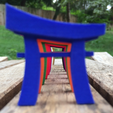 Download free OBJ file Joi Konpurekkusu Pocket Torii • 3D printing model, joycomplex