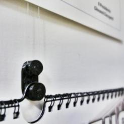 1.jpg Download free STL file No-Nail Wall Bracket • 3D printer design, MarcoAlici
