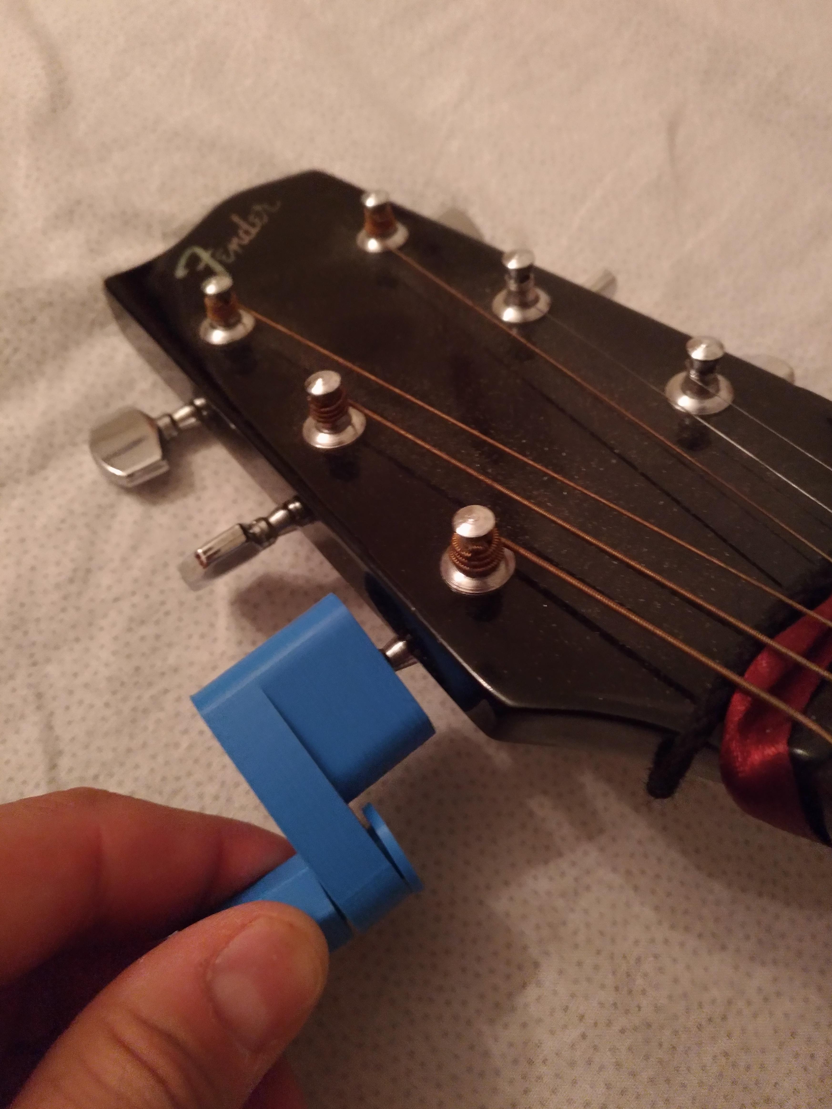 P_20170726_213635_vHDR_On.jpg Télécharger fichier STL gratuit Encore un autre Guitar String Winder 2 • Objet imprimable en 3D, MarcoAlici