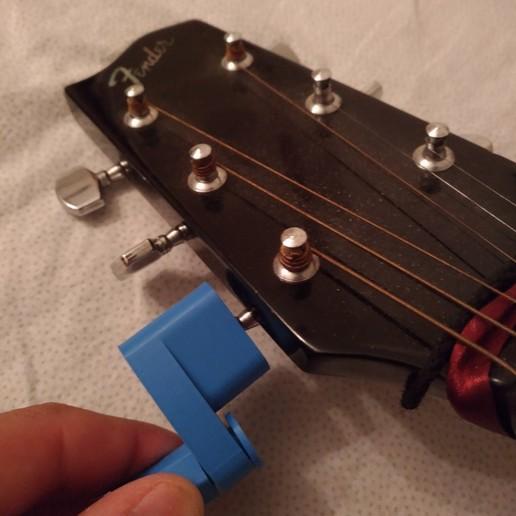 Download free STL file Yet Another Guitar String Winder 2 • 3D print design, MarcoAlici