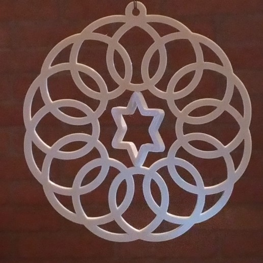P_20171216_174217.jpg Download free STL file Spirograph Gyroscopic  Christmas Ornament • Object to 3D print, MarcoAlici