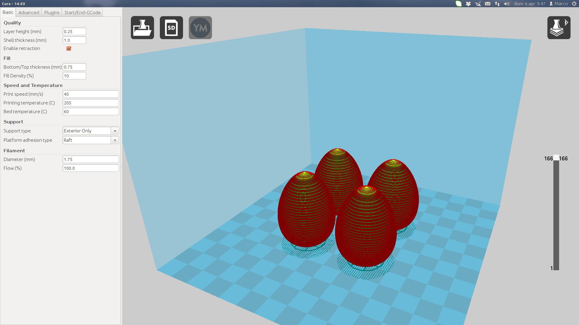 MA_Screenshot.jpg Download free STL file (Easter) Egg • 3D print model, MarcoAlici