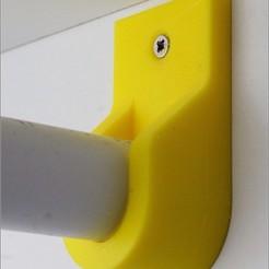 Descargar archivos 3D gratis Otro montaje de rieles de armario, MarcoAlici
