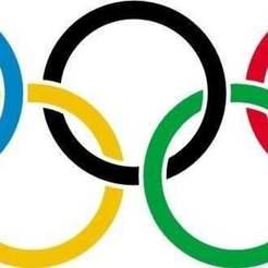 Télécharger plan imprimante 3D gatuit Les anneaux olympiques, MarcoAlici