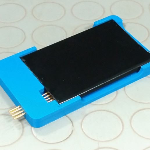 Download free STL file Battery Charger Case for Galaxy Note 3 • 3D printer model, MarcoAlici