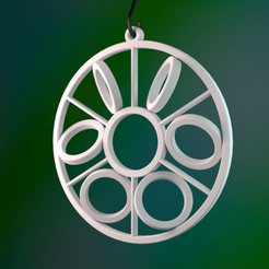 Download free 3D printing files Rolling Circles Ornament, MarcoAlici