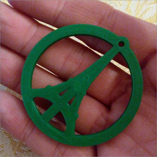 Download free STL file Yet Another Peace for Paris pendant • Design to 3D print, MarcoAlici