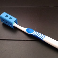 Télécharger modèle 3D gratuit Encore un autre couvercle de tête de brosse à dents, MarcoAlici