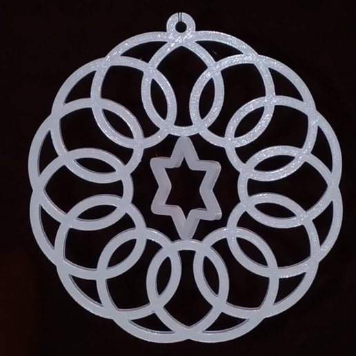 P_20171216_174151.jpg Download free STL file Spirograph Gyroscopic  Christmas Ornament • Object to 3D print, MarcoAlici