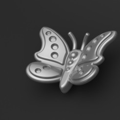 Download STL files Butterfly pendant, valentinf