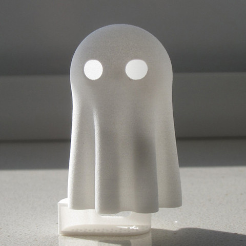 Ghost02_s.jpg Download free STL file Lightclip: Ghost • 3D print object, Lab02