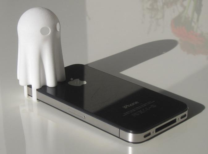 Ghost03_s.jpg Download free STL file Lightclip: Ghost • 3D print object, Lab02