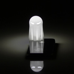 Free 3D printer designs Lightclip: Ninja Ghost, Lab02