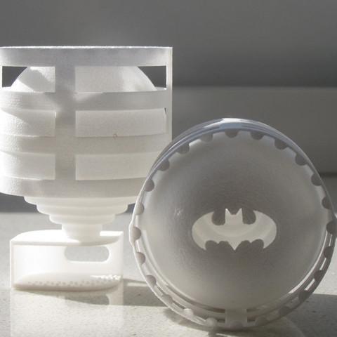 Download free STL files Lightclip: Batman, Lab02
