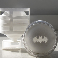 Download free STL files Lightclip: Batman, Lab02